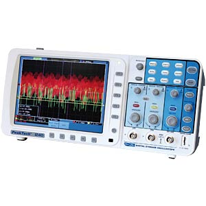 60 MHz/2 CH, 500 MSa/s, Digital Speicheroszi. PEAKTECH 1240