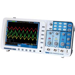 200 MHz/2-channel, 2 GSa/s digital storage oscilloscope PEAKTECH 1260