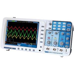 200 MHz/2-channel, 2GSa/s digital storage oscilloscope PEAKTECH 1260