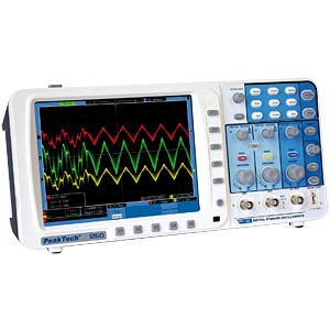 Digital-Speicher-Osziloskop, 200 MHz, 2 Kanäle PEAKTECH 1260
