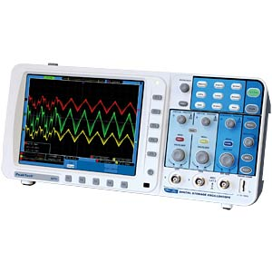 300 MHz, 2-channel digital storage oscilloscope PEAKTECH P 1270