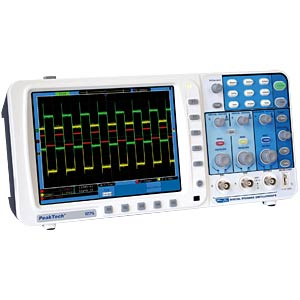 300 MHz, 2-channel digital storage oscilloscope PEAKTECH P 1275