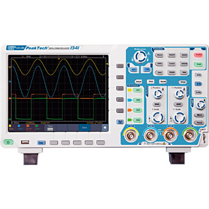 Digital storage oscilloscope, 100 MHz, 4 channels PEAKTECH P 1341