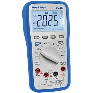 Digital-Multimeter, 3 5/6-stellig, USB-Schnittstelle PEAKTECH P 2025