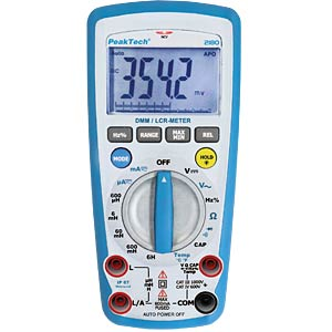 Digital multimeter/LCR measuring instrument PEAKTECH P 2180
