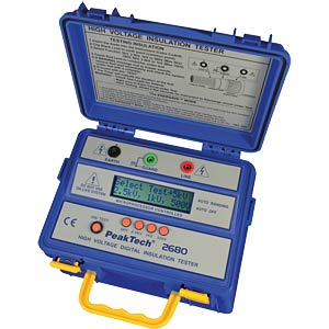 High-voltage insulation tester PEAKTECH 2680