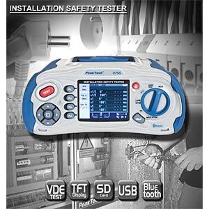 Installationsprüfgerät mit Bluetooth PEAKTECH P 2755