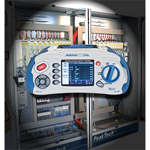 Installation tester with Bluetooth function PEAKTECH P 2755