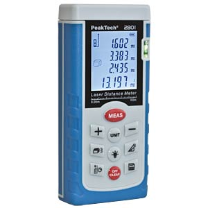 Laserentfernungsmesser, 0,05 - 60 m PEAKTECH P 2801
