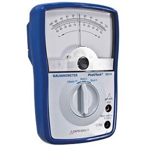 Galvanometer, analog, 5 mA, 100 mV DC PEAKTECH P 3204