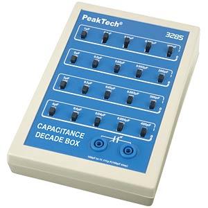 PeakTech® capacitance decade PEAKTECH P 3285