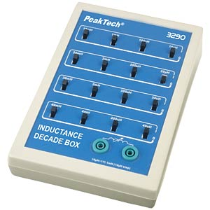 PeakTech® inductance decade PEAKTECH P 3290