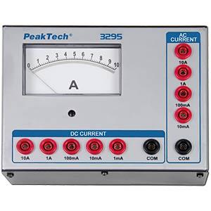 Amperemeter, analog, 10 A PEAKTECH P 3295