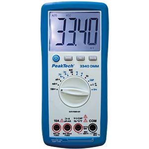 Digital multimeter PEAKTECH PEAKTECH 3340