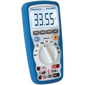 Profi-Digital-Multimeter, 3 3/4-stellig PEAKTECH P 3355