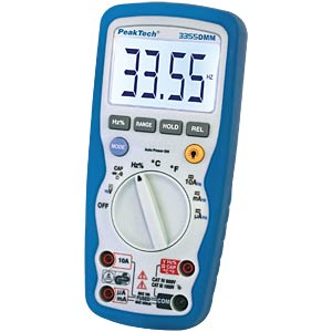 Multimeter, digital, 4000 Counts, IP67 PEAKTECH P 3355