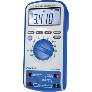 Digital-Multimeter, 3 5/6-stellig mit True RMS PEAKTECH P3410