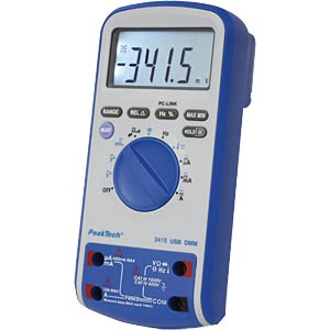 Digital-Multimeter PEAKTECH 3415 USB PEAKTECH P3415