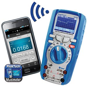 Multimeter, digital, 49999 Counts, grafisch PEAKTECH P 3440
