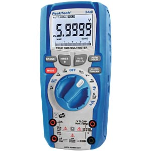 Digital-Multimeter, 60.000 Counts, TÜV/GS PEAKTECH P 3441