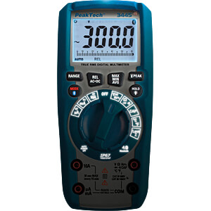 Multimeter, digital, 6000 Counts, IP67, Special Promo PEAKTECH P 3443 PROMO