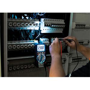 Multimeter, digital, 6000 Counts, TRMS, IP67 PEAKTECH P 3444