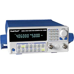 DDS function generator 10 µHz - 20 MHz with 10 W power amplifier PEAKTECH P 4060MV