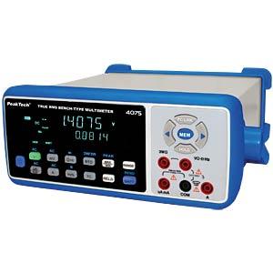 Tischmultimeter, 4 5/6-st., USB, LAN, Bluetooth PEAKTECH P 4075