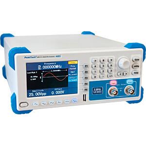 Funktionsgenerator, arbiträr, 1 µHz ... 5 MHz PEAKTECH P 4120