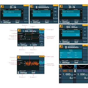 Funktionsgenerator, arbiträr, 1 µHz ... 10 MHz, 2 Kanäle PEAKTECH P 4124