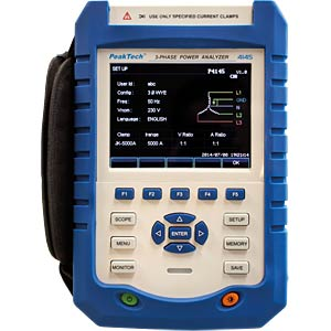 3-phase power analyser PEAKTECH P 4145