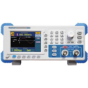 Arbitrary function generator, 1 µHz to 60 MHz PEAKTECH P 4165