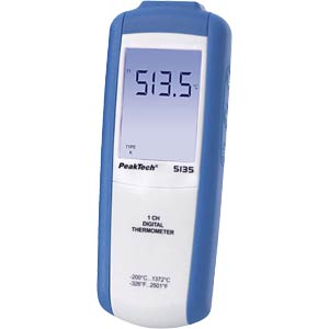 Digital-Thermometer, -200 bis +1372°C PEAKTECH P5135
