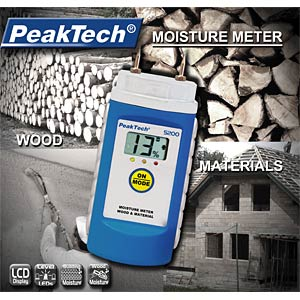 Wood and material moisture meter PEAKTECH P 5200