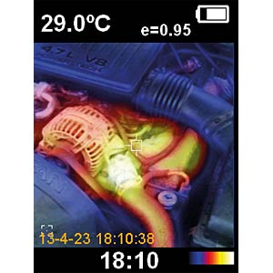 IR-Thermal Imaging Camera PEAKTECH 5605