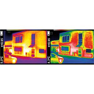 Caméra infrarouge, -20 °C ... +300 °C, ± 2 % PEAKTECH P 5610