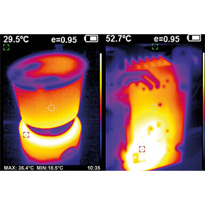 Thermal imaging camera, -20 °C ... +300 °C, ±2% PEAKTECH P 5610
