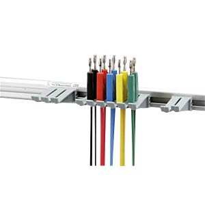 Messleitungsset, 4 mm, mit Halterung HIRSCHMANN TEST & MEASUREMENT 972604001