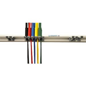 Measurement cable set with bracket, 4 mm, safety HIRSCHMANN TEST & MEASUREMENT 972605001