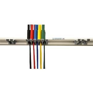 Messleitungsset, 4 mm, mit Halterung, gesichert HIRSCHMANN TEST & MEASUREMENT 972605001
