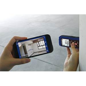 Laser-Entfernungsmessgerät, bis 100 m, Bluetooth PRECASTER CX100