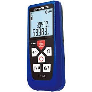 Laser distance meter, 0.05 - 60 m, Bluetooth PRECASTER HT60