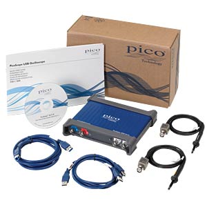 USB oscilloscope 3206D - 200 MHz 2-channel PICO PP961