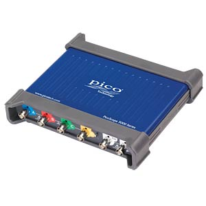 USB oscilloscope 3406D - 200 MHz 4-channel PICO PP965
