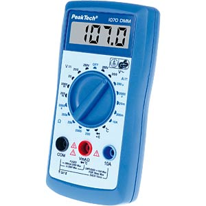 Digital multimeter, 3½ digits, TÜV-/GS-tested PEAKTECH 1070
