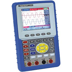 20 MHz 2-channel digital storage oscilloscope/DMM PEAKTECH 1205