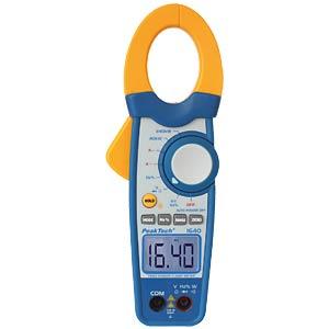 Leistungs-Zangenmessgerät, digital, AC/DC, bis 1000 A, 240 kW PEAKTECH 1640