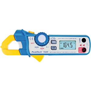Digital clip-on measuring instrument PEAKTECH PT1645