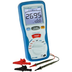 Digital insulation tester, 3 ½ digits PEAKTECH P2695