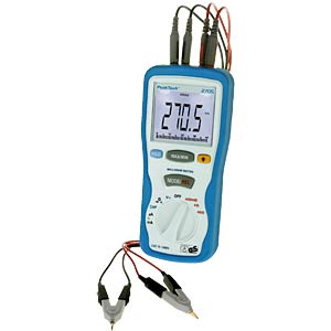 Multimeter, digital, 4000 Counts, Milliohmmessung PEAKTECH PT2705